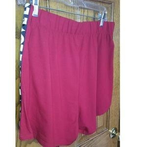 """SHEIN Shorts - Shein """"love"""" printed shorts"""